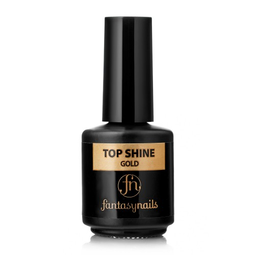 Верхнее покрытие Top Shine Fantasy Nails Gold(15мл)