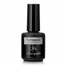 Верхнее покрытие Top Shine Fantasy Nails Hologram (15мл)